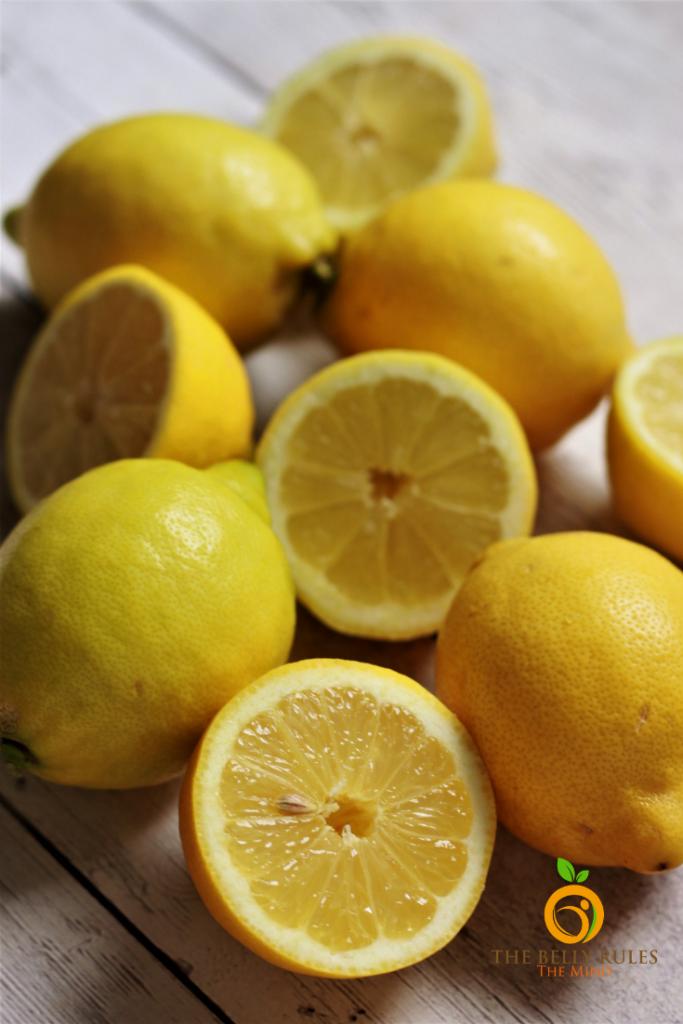 lemons for homemade lemonade recipe