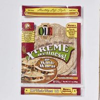Ole Xtreme Wellness Whole Wheat Wraps, 8ct Pack - 6 Pack Case