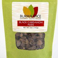 Black Cardamom Pods   Smokey, Dried, Indian Seasoning Spice   100% Pure   (5 oz.)