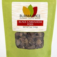 Black Cardamom Pods | Smokey, Dried, Indian Seasoning Spice | 100% Pure | (5 oz.)