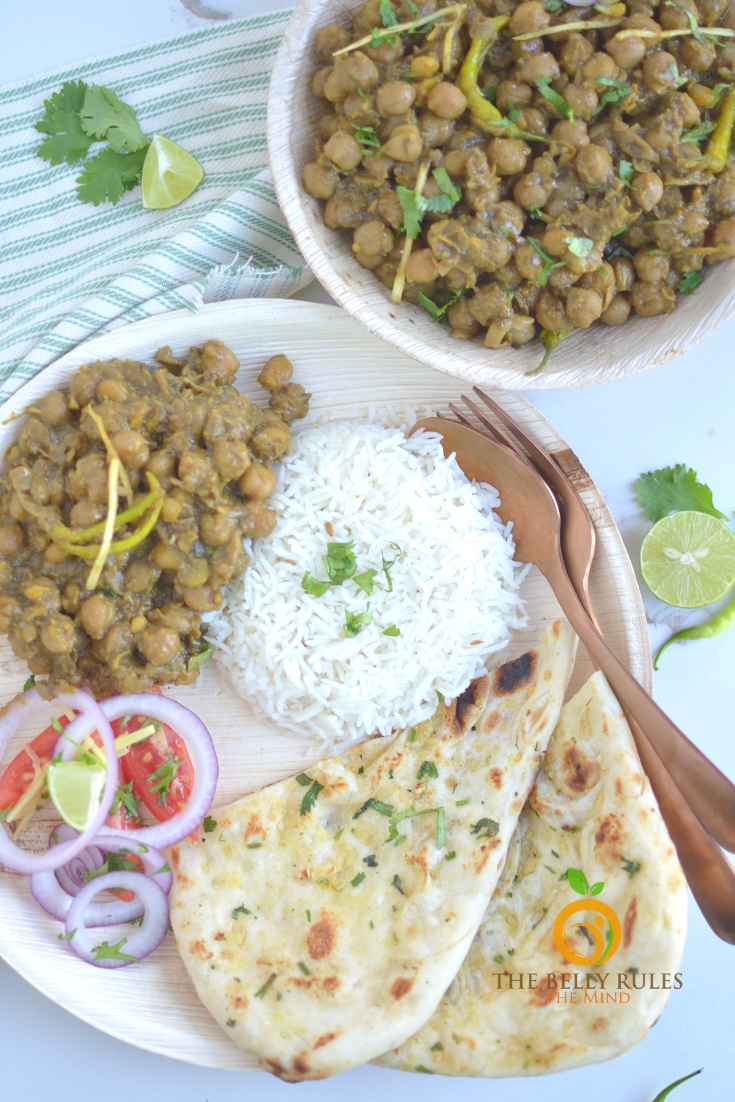 Instant pot Punjabi Pindi Chole _ Indian Style Dry Garbanzo Beans