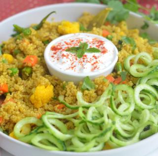 instant pot vegetable quinoa pulav