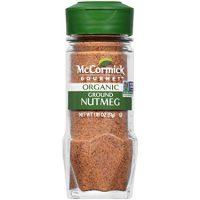 McCormick Gourmet Organic Ground Nutmeg, 1.81 oz