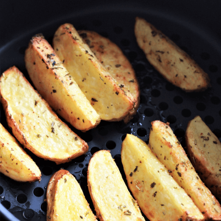 Air Fryer Potato Wedges Recipe