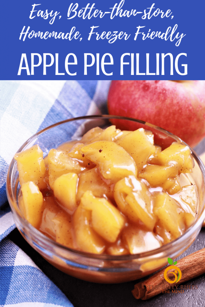 Cinnamon Apple Pie Filling The Belly Rules The Mind