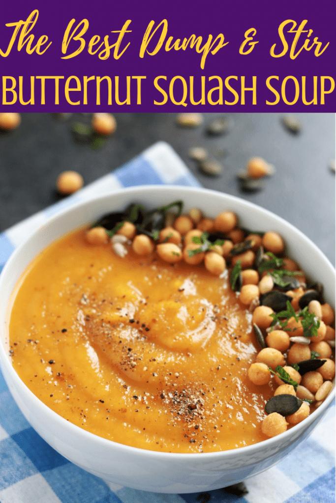 Vegan Instant Pot Butternut Squash Recipe
