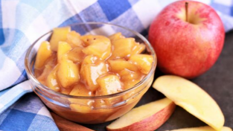 Cinnamon Apple Pie Filling Recipe
