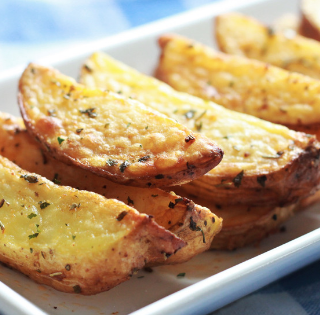 Crispy Air Fryer Potato Wedges Recipe
