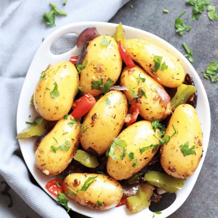 instant pot roasted potatoes