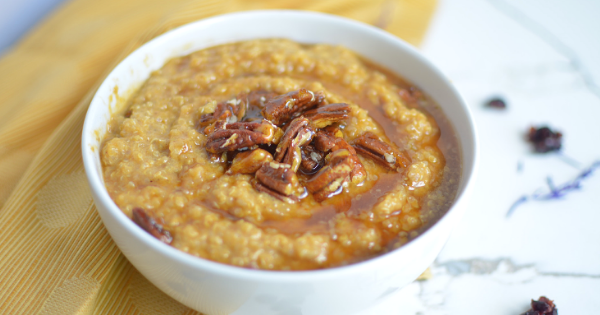 instant pot pumpkin quinoa porridge (9)