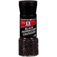 McCormick Black Peppercorn Grinder, 2.5 oz