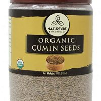 Whole Cumin Seeds (1 Pound) - Organic Raw Cuminum cyminum L.