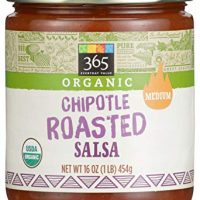 365 Everyday Value, Salsa Chipotle Roasted Organic, 16 Ounce