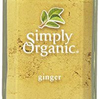 Simply Organic Ginger Root Ground Certified Organic, 1.64-Ounce Container