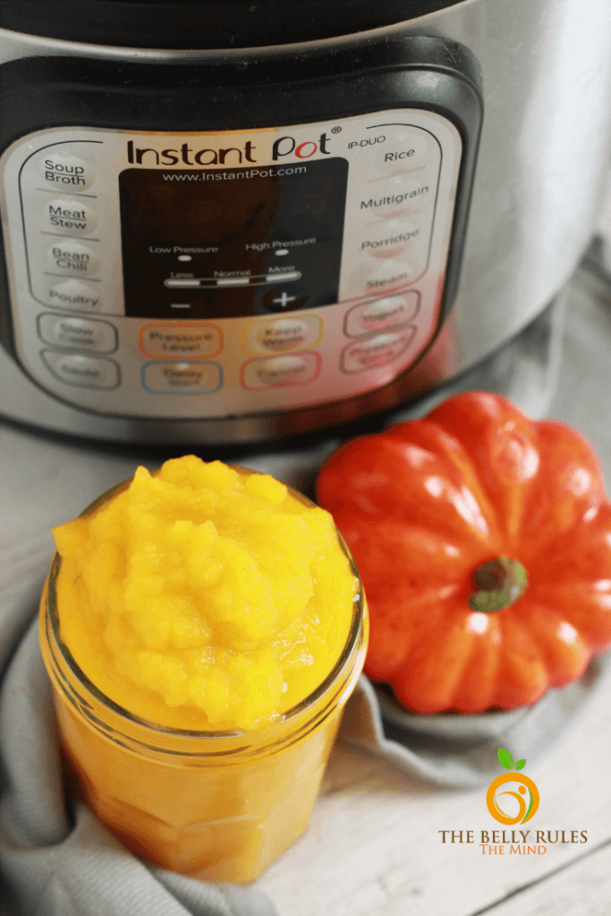 homemade pumpkin puree in instant pot