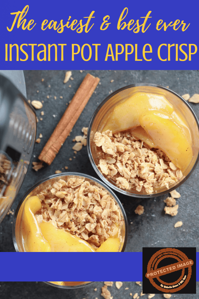 Easy Instant Pot Apple Crisp Recipe