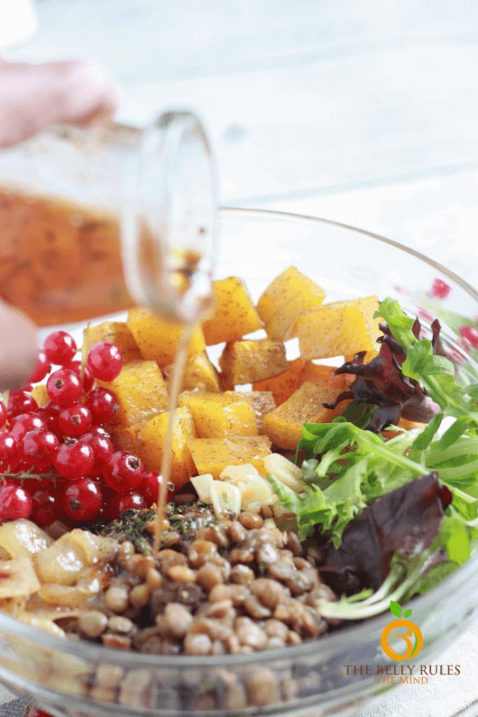 how to cook lentils for a lentil salad