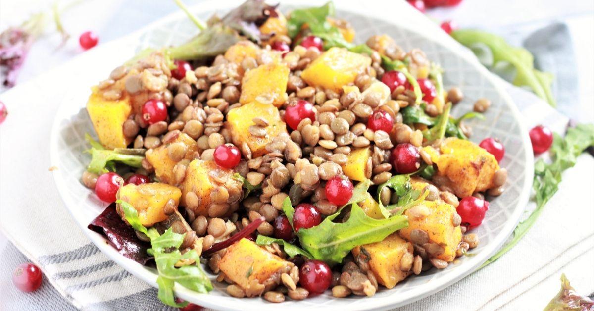 how to cook lentils plus lentil salad recipe