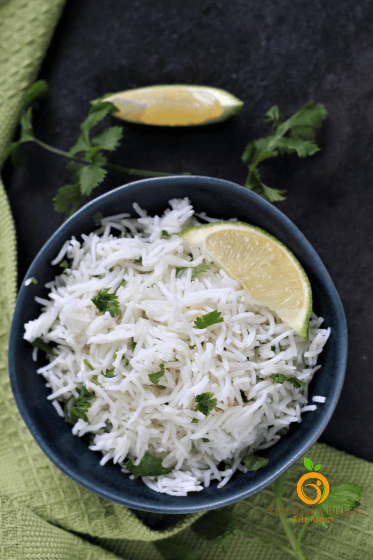 chipotle cilantro lime rie recipe in a bowl