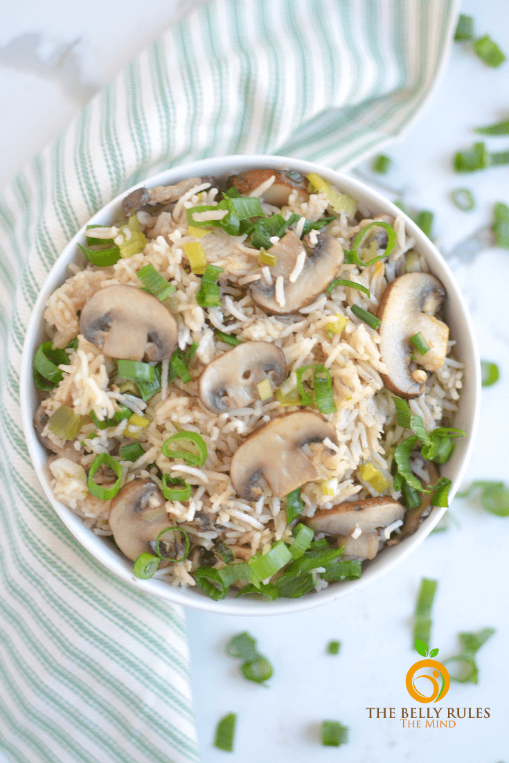 instant pot Mushroom pilaf _ rice (2)