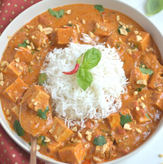 Instant Pot Thai Peanut Curry