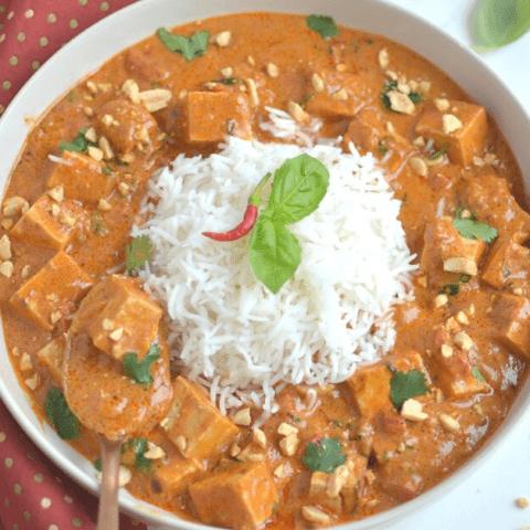 Instant Pot Thai Peanut Curry