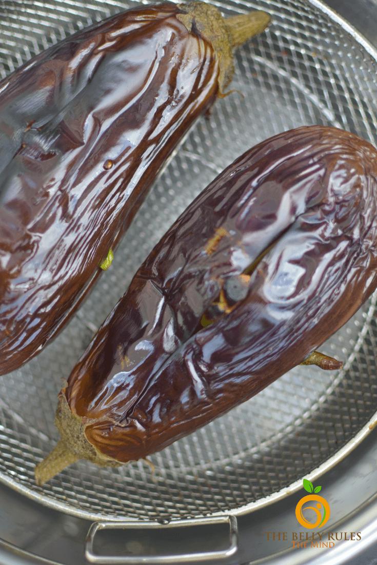 Baingan ka Bartha - Smoky Eggplant