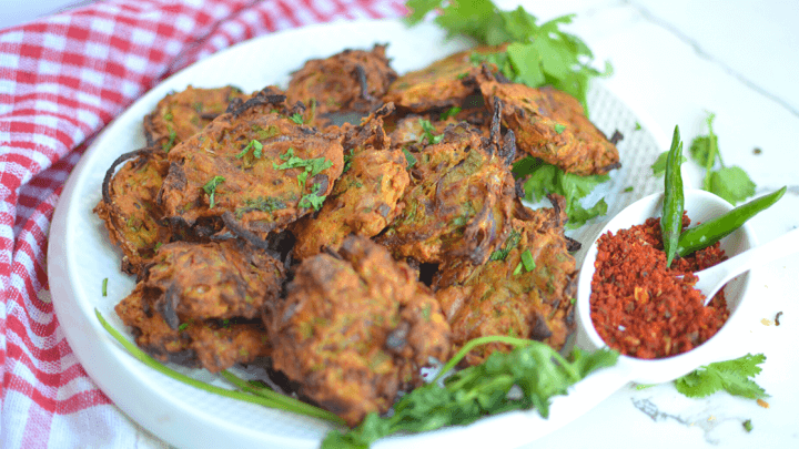 Air Fryer Onion Bhaji- Onion Pakora