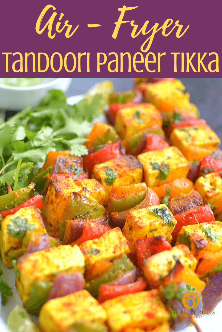 Air Fryer Tandoori Paneer Tikka
