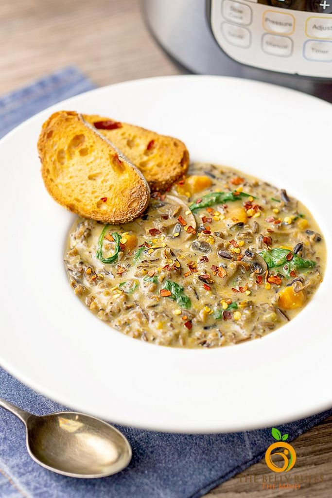 wild rice mushroom soup recipe