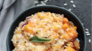 Instant Pot Butternut Squash Risotto Recipe