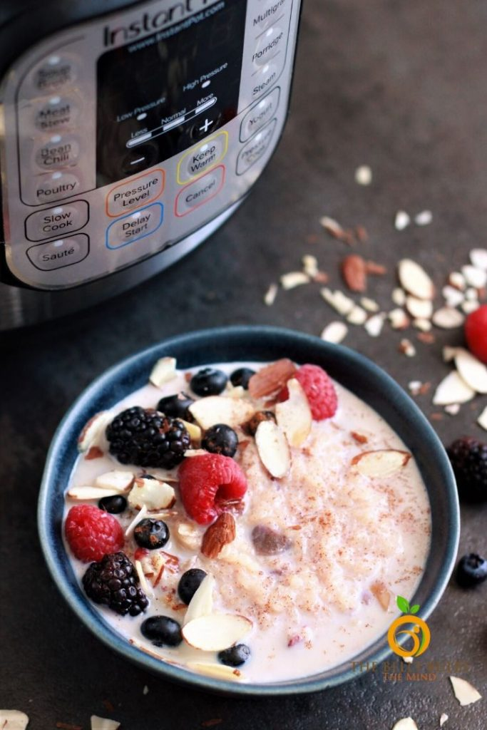 instant pot breakfast rice porridge recipe