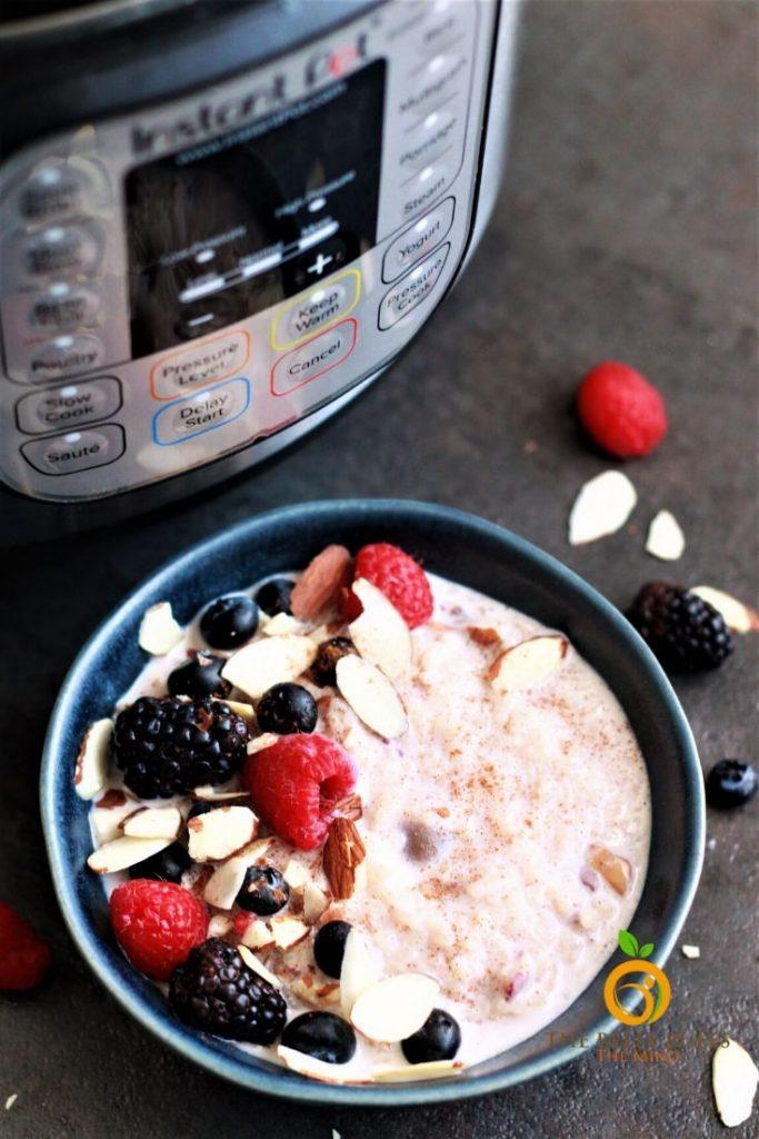 instant pot rice porridge recipe