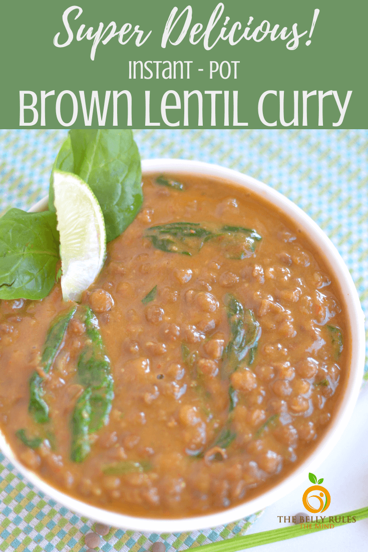 Looking for a quick, satisfying vegetarian meal that makes a hearty lunch or dinner? This easy Instant Pot Brown Lentil Curry is a hearty meal that will give you and your loved ones the boost of filling nutrition they need to power through the day.