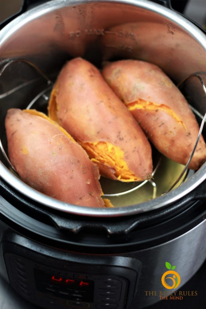 how to make sweet potatoes in instant pot
