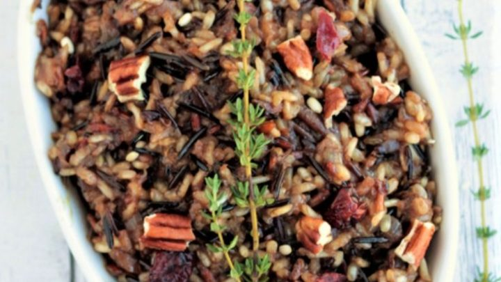 Instant Pot Cranberry Wild Rice Pilaf Recipe
