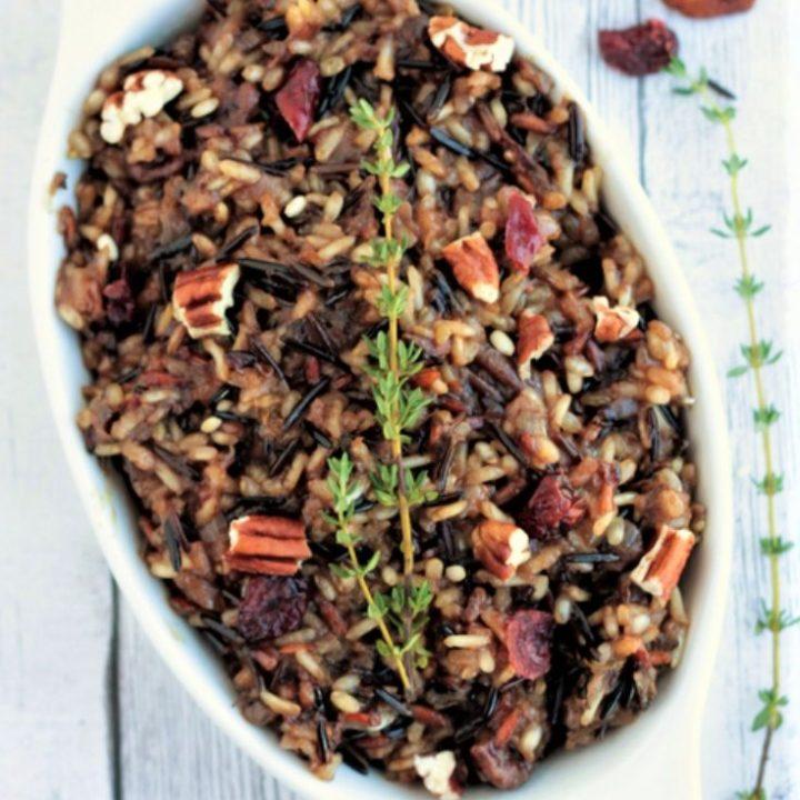 cranberry wild rice pilaf recipe 1