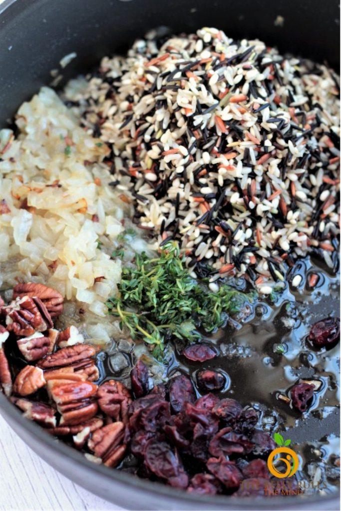 cranberry wild rice pilaf stove top recipe