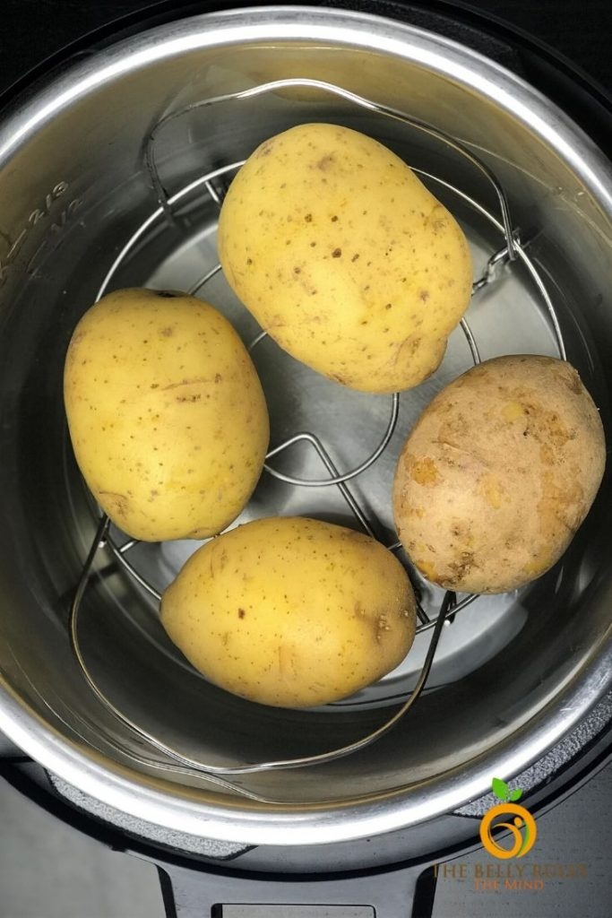 how to make baked potatoes in instant pot