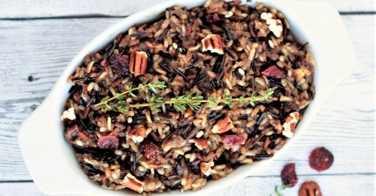 cranberry wild rice pilaf recipe