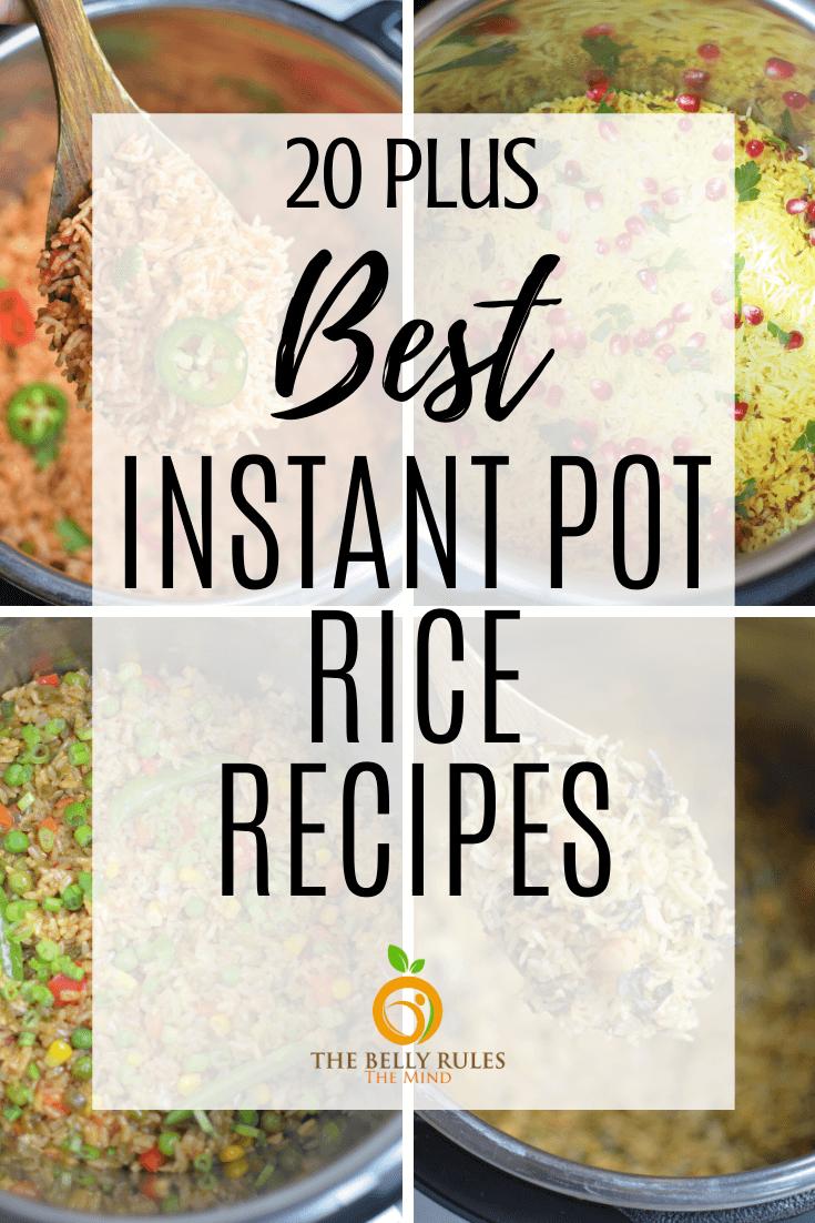 instant pot best rice recipes