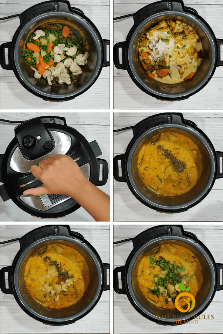 navratan korma step by step