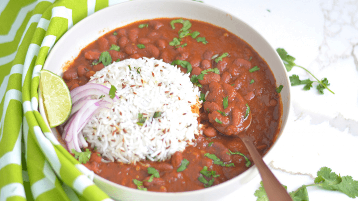Instant Pot Rajma Chawal Recipe
