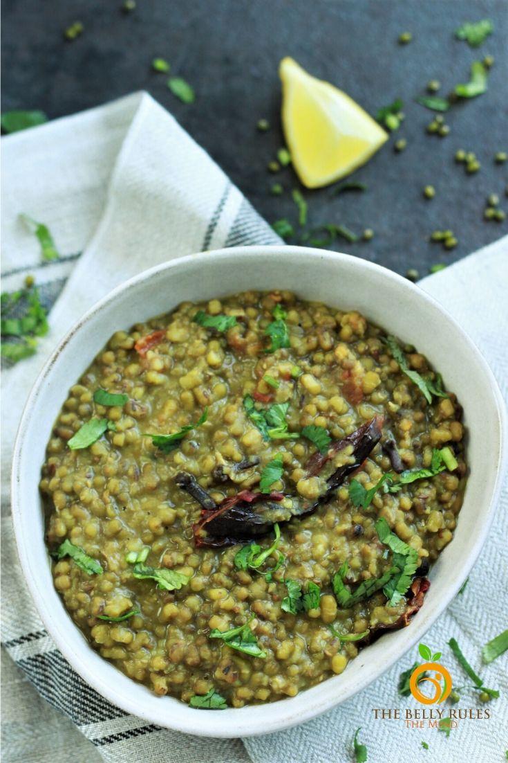 green moong dal recipe