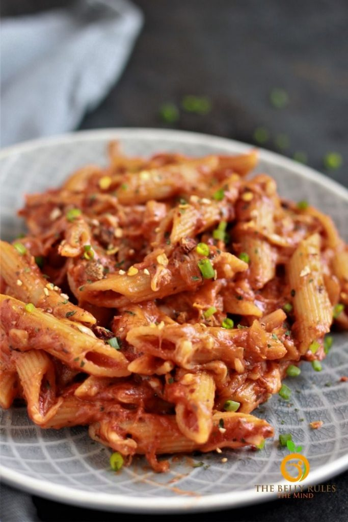 vegetarian instant pot baked ziti recipe