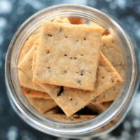 Vegan Mathri Wheat Crackers