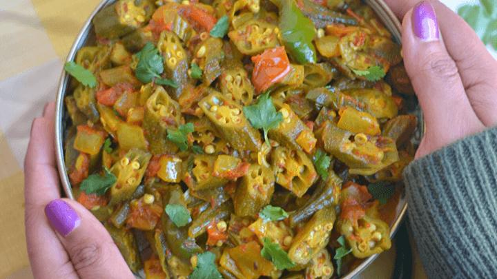 Bhindi masala/ okra stir fry