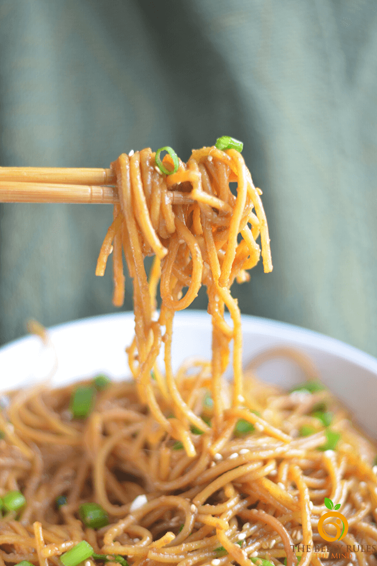 Best Instant pot Garlic noodles