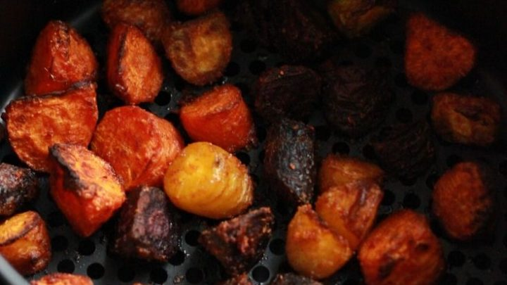 how to make roasted carrots in air fryer