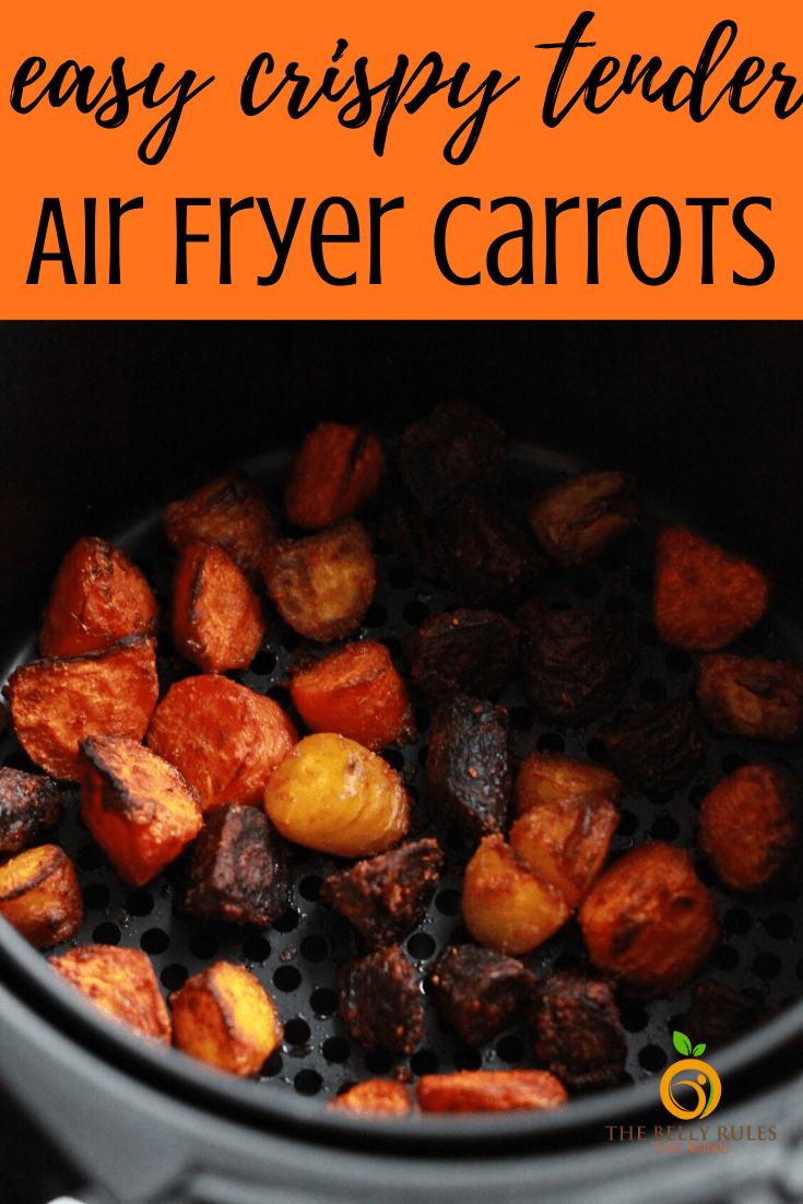 These Air Fryer Carrots are cooked to be perfection until crispy tender. Flavored with spices, these Air Fryer carrots are super easy to make and make a great side dish or topping in your salad or power bowls. Roast them in the oven or air fry them in your electric pressure cooker using a crisp lid, you won't be disappointed at all. Vegan. Gluten-Free. Video Recipe.
